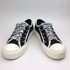 Dior WALK'N'DIOR IN CANVAS sneakers sz 5